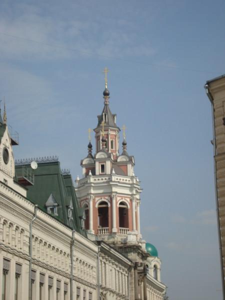 Москва. Доходный дом Заиконоспаского монастыря (1)