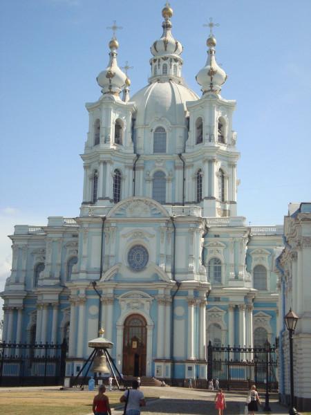 Санкт-Петербург. Смольный собор (4)