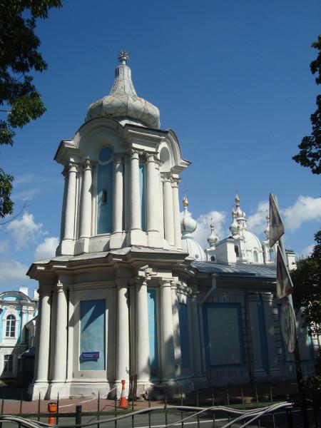 Санкт-Петербург. Ансамбль Смольного монастыря (1)