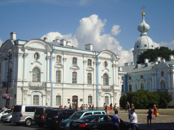 Санкт-Петербург. Ансамбль Смольного монастыря (2)