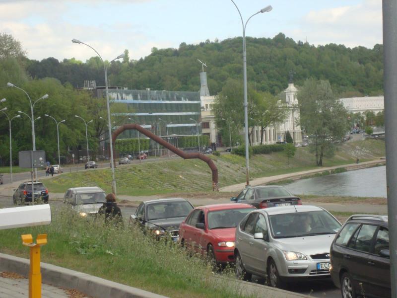 Вильнюс. Олимпийская улица