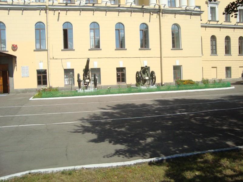 Санкт-Петербург. Михайловская военная артиллерийская академия. Старые орудия (2)
