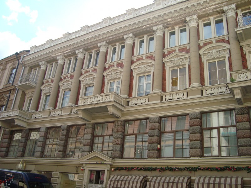 Вильнюс. Виленская ул., д.21. Дом Янушевского
