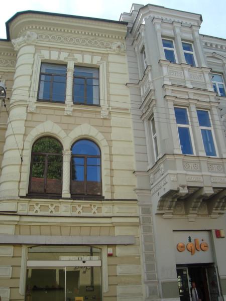 Вильнюс. Виленская ул., д.25 и д.27