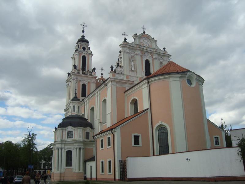 Вильнюс. Костёл святой Екатерины (3)