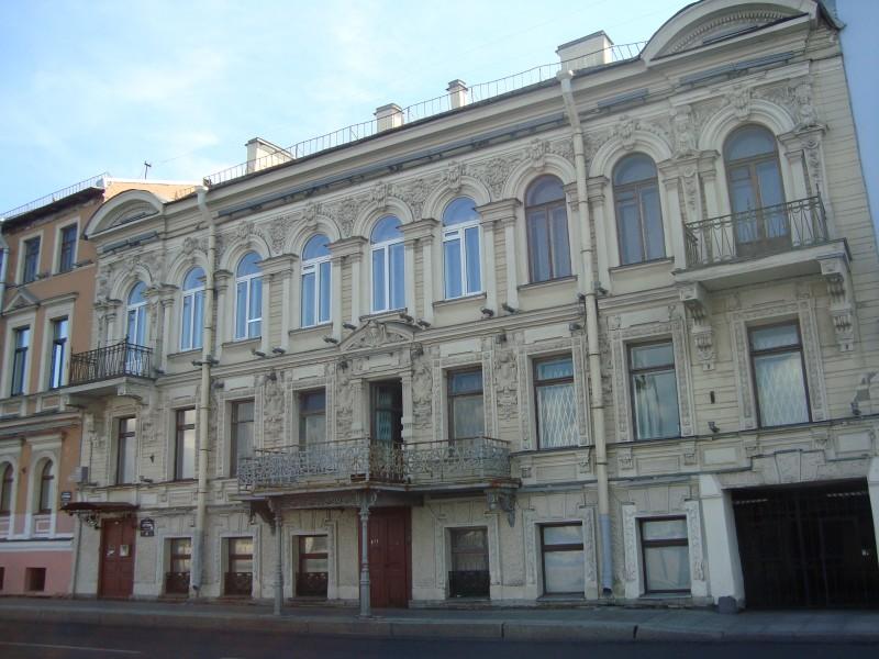 Санкт-Петербург. Наб.Кутузова, д.28