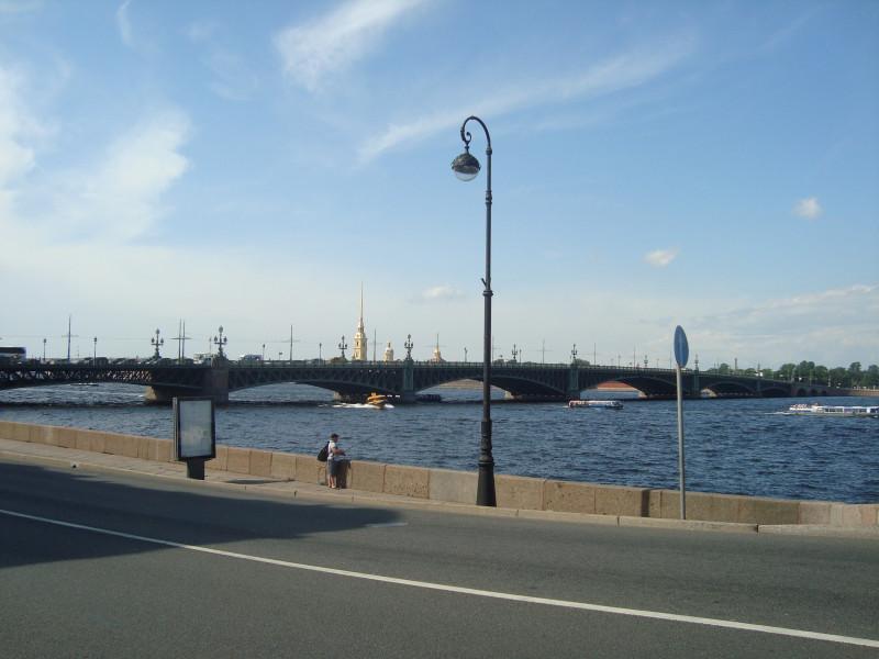 Санкт-Петербург. Троицкий мост (1)