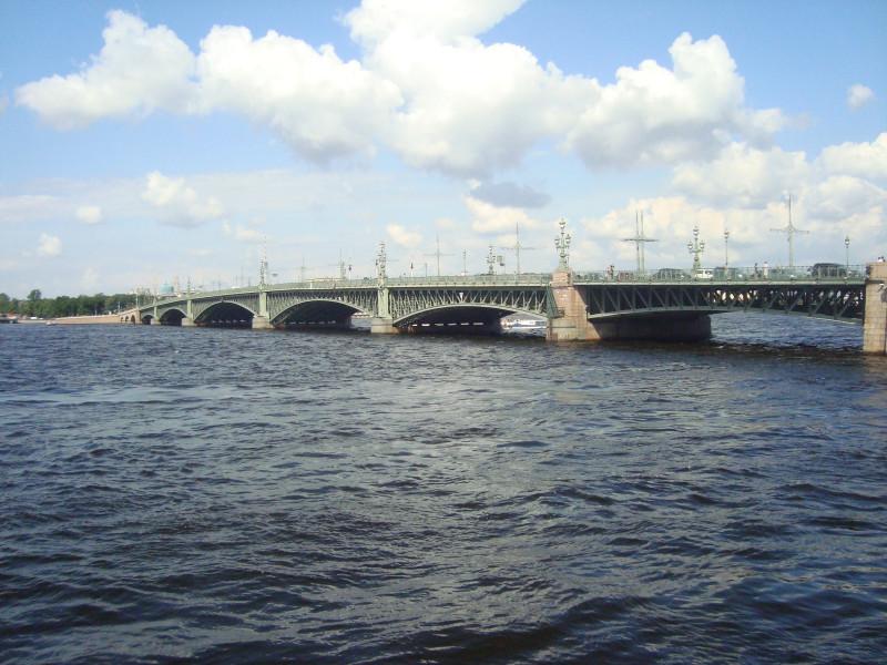 Санкт-Петербург. Троицкий мост (2)