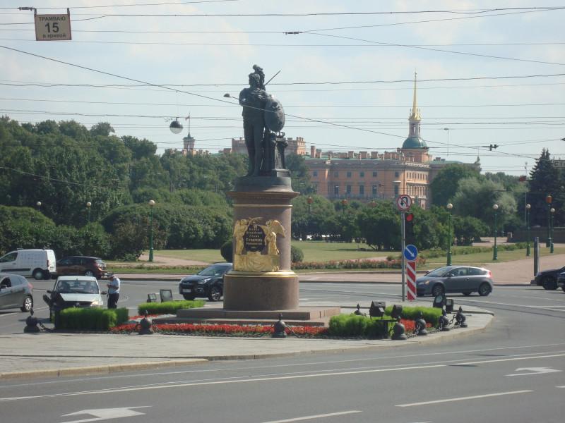 Санкт-Петербург. Памятник А.В.Суворову