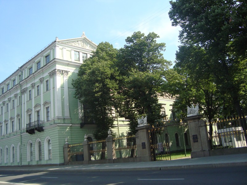 Санкт-Петербург. Мраморный дворец. Служебный корпус