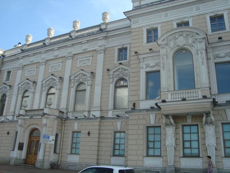 Санкт-Петербург. Дворец Кантимира (2)