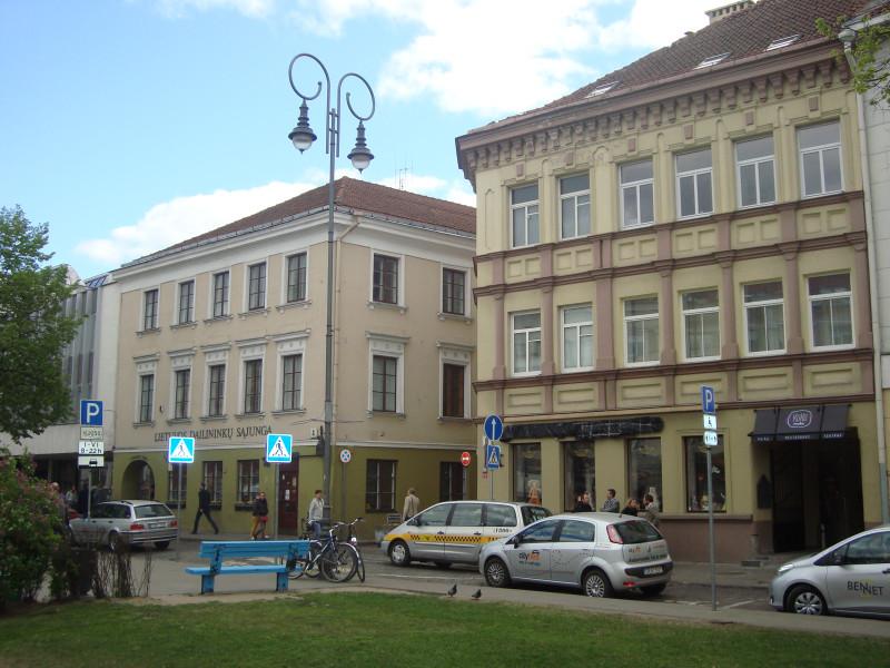 Вильнюс. Немецкая ул., дома 6 и 4