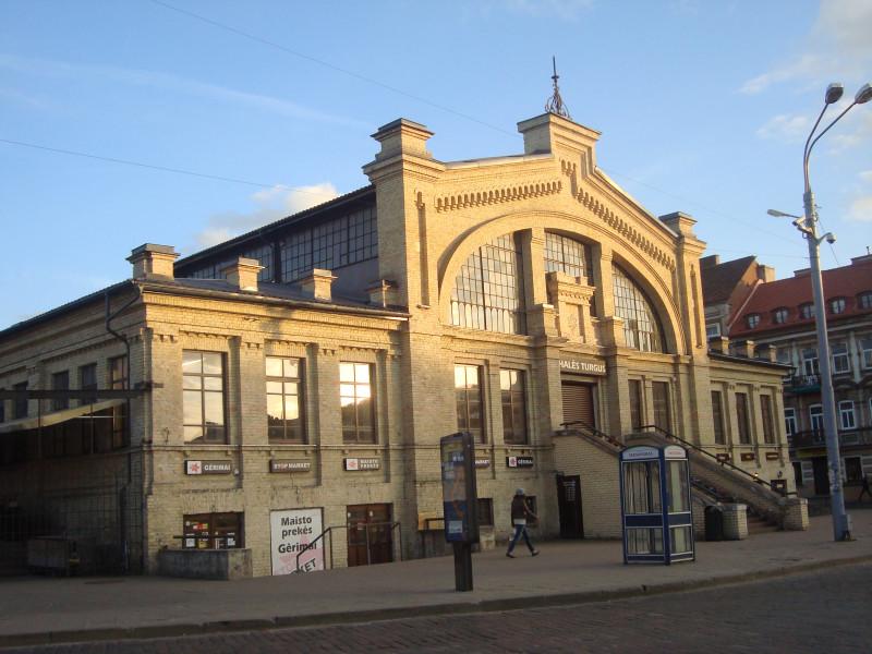 Вильнюс. Крытый рынок на Базилианской ул.