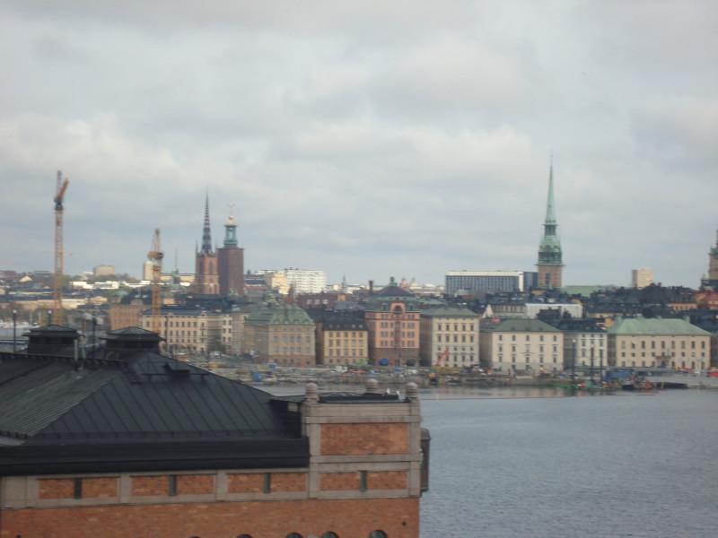 Стокгольм. Вид с острова Сöдермальм (1)