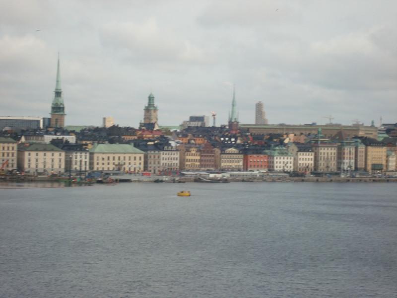 Стокгольм. Вид с острова Сöдермальм (2)