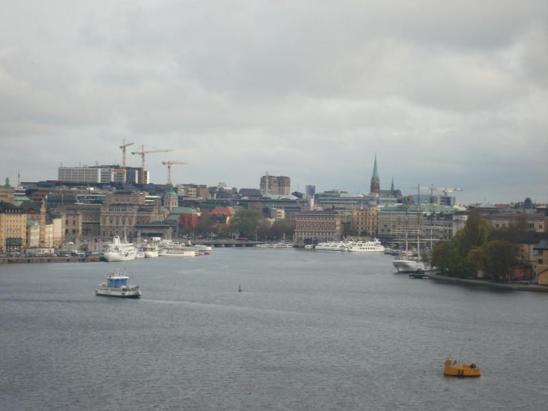 Стокгольм. Вид с острова Сöдермальм (3)