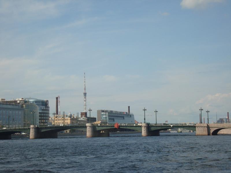Санкт-Петербург. Сампсониевский мост