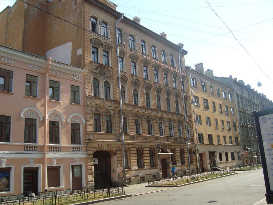 Санкт-Петербург. 3-я Советская улица