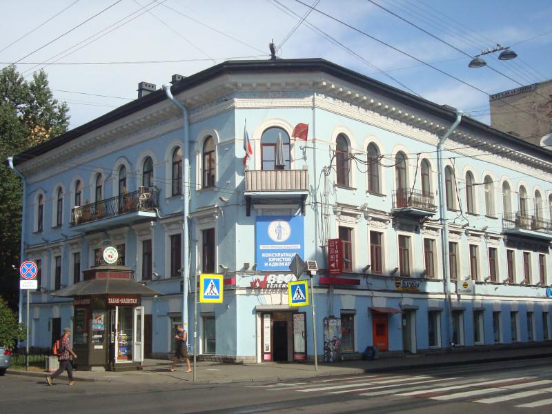 Санкт-Петербург. Суворовский пр-т, д.10