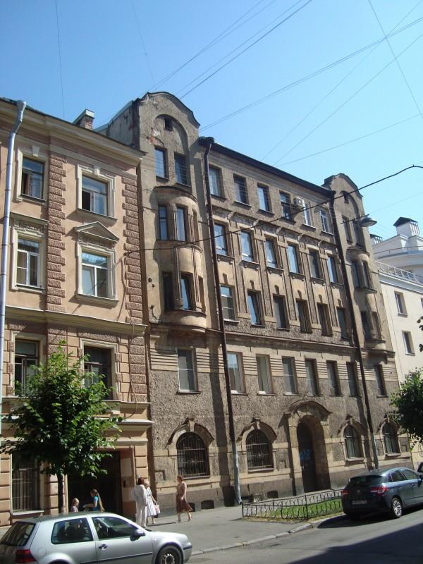 Санкт-Петербург. 9-я Советская ул., д.14