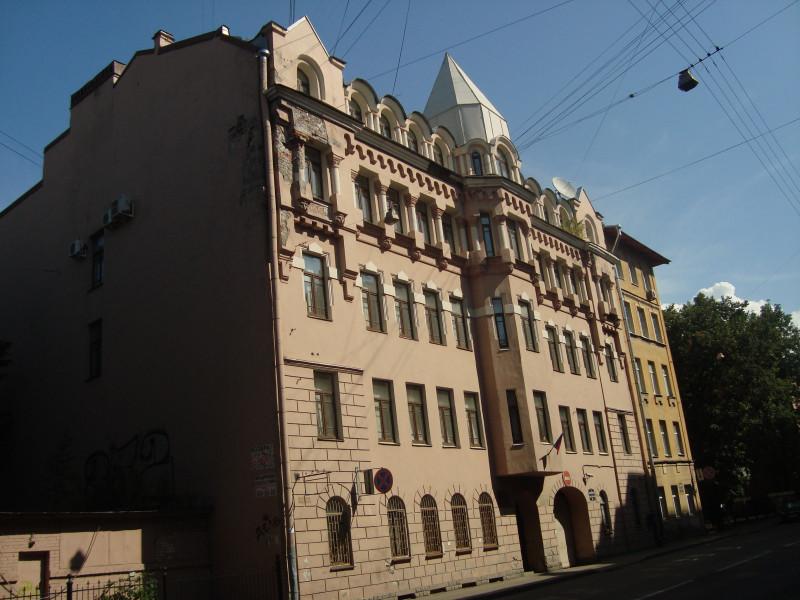 Санкт-Петербург. Ул.Моисеенко, д.2А