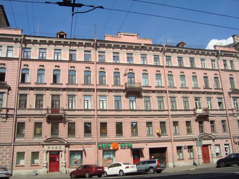 Санкт-Петербург. Суворовский пр-т, д.54