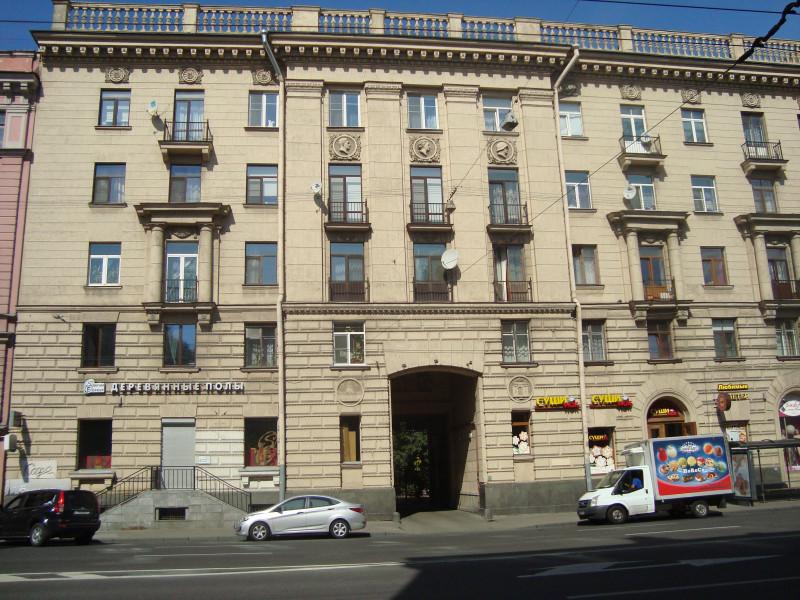 Санкт-Петербург. Суворовский пр-т, д.56 (1)