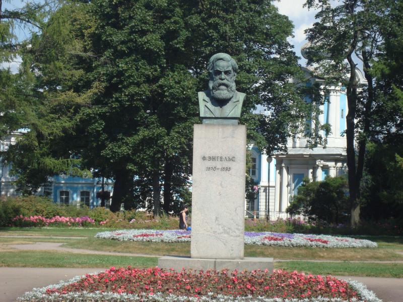 Санкт-Петербург. Памятник Ф.Энгельсу