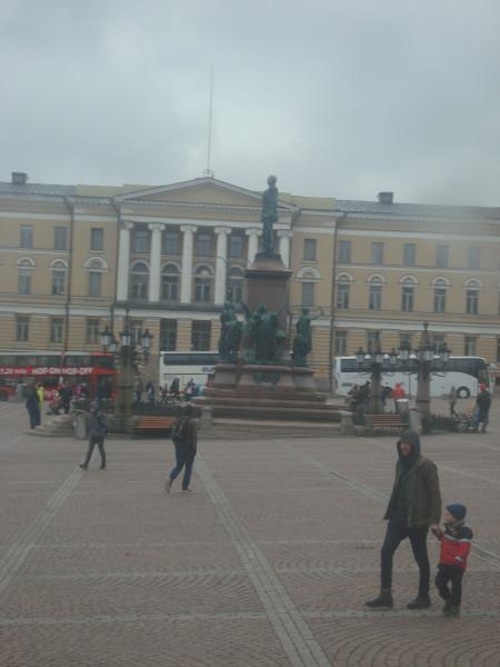 Хельсинки. Сенатская площадь (1)
