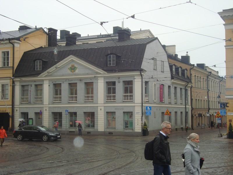 Хельсинки. Дом Седерхольма (1)