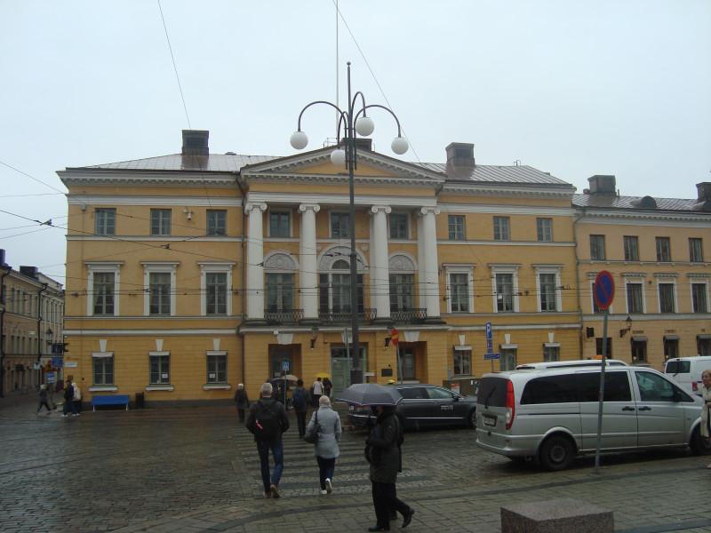 Хельсинки. Старая ратуша