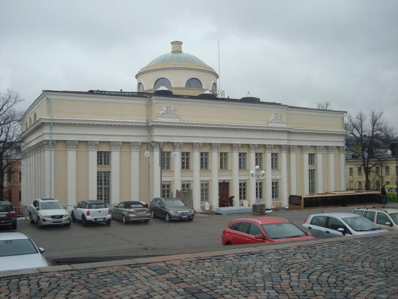 Хельсинки. Национальная библиотека