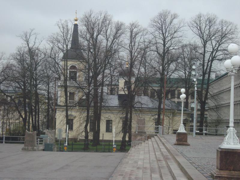 Хельсинки. Церковь Святой Троицы