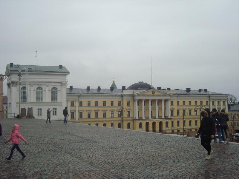 Хельсинки. Сенатская площадь (7)