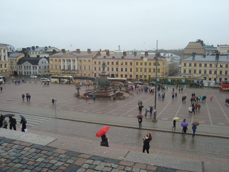 Хельсинки. Сенатская площадь (8)