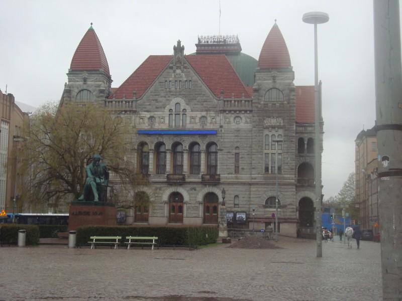 Хельсинки. Финский национальный театр (1)