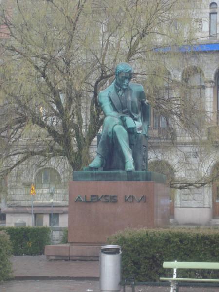 Хельсинки. Памятник А.Киви