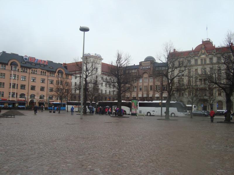 Хельсинки. Привокзальная площадь