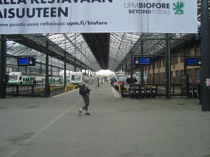Хельсинки. Центральный вокзал (2)