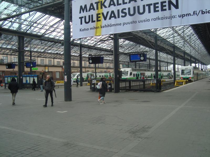 Хельсинки. Центральный вокзал (3)