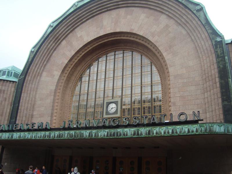 Хельсинки. Центральный вокзал (4)