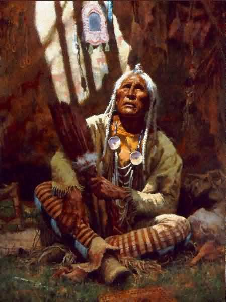 Howard-Terpning-Holy-Man-Of-The-Blackfoot