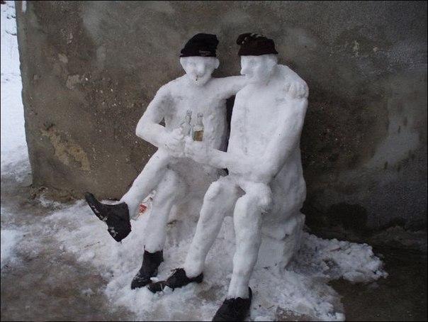 снеговик-зима-алкаши-91331