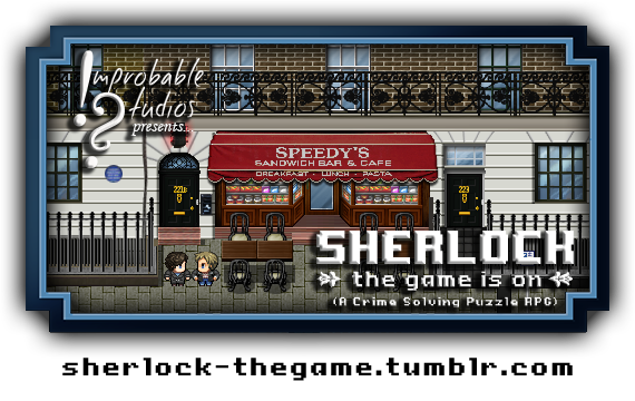SHERLOCK: THE GAME IS ON Banner