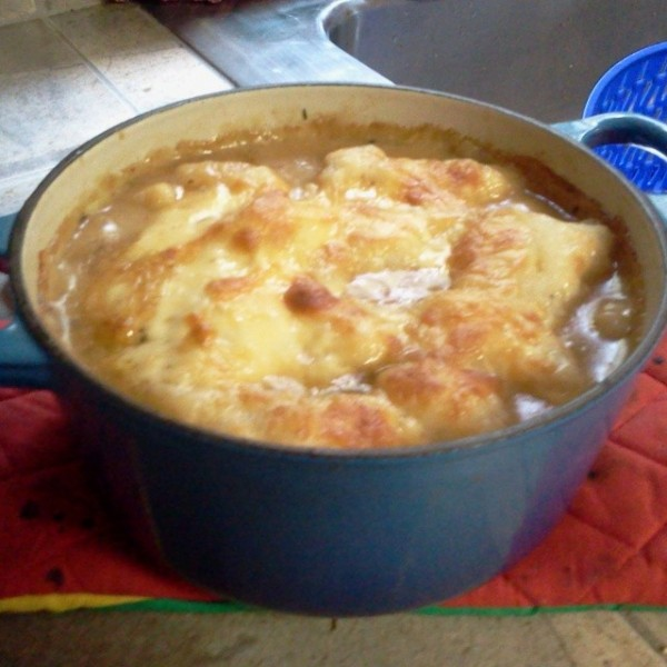 French onion soup 23 Oct 2013