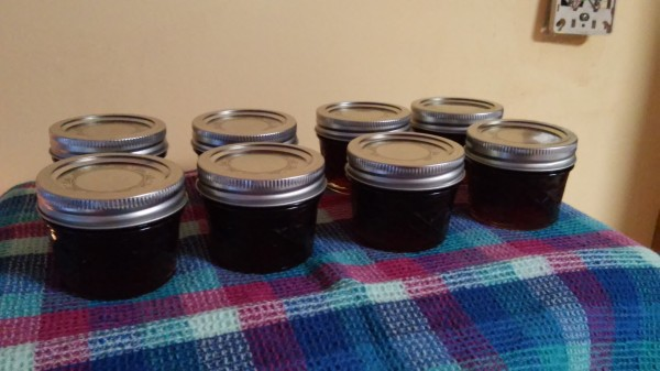 Raspberry-lime beer jelly