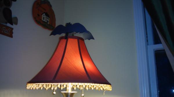 Bats on a Lamp