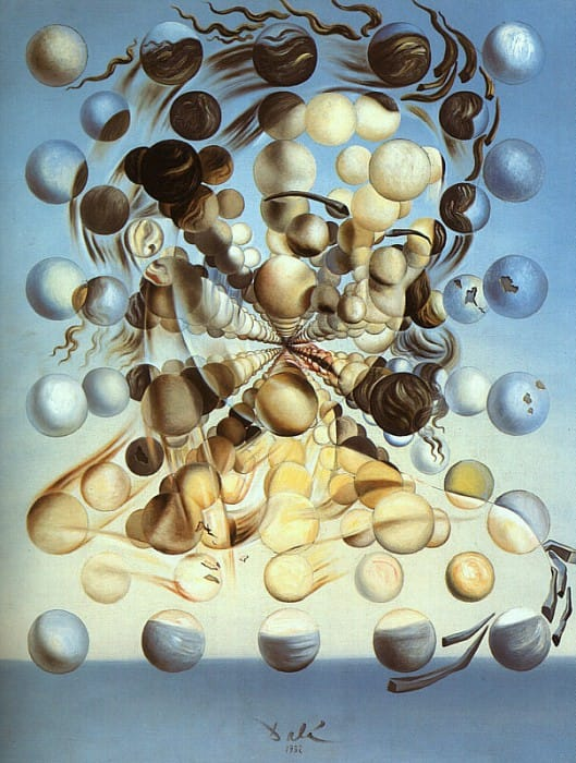 Иллюстрация к сказке: Сальвадор Дали. Галатея со сферами. 1952.