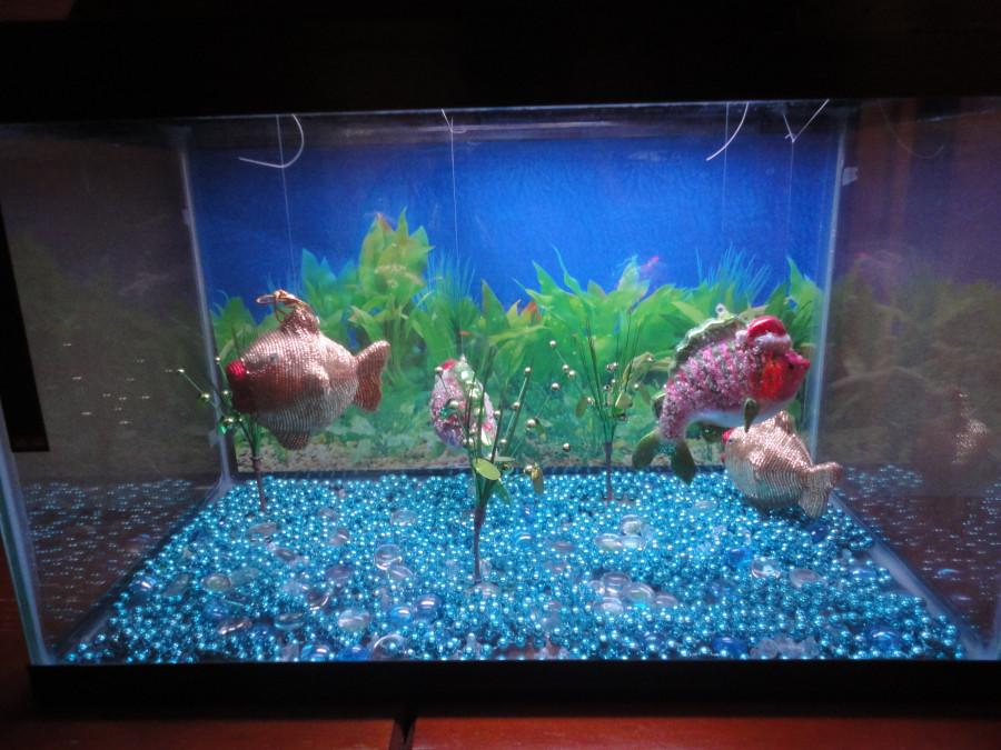 Почему в аквариуме вода затухает