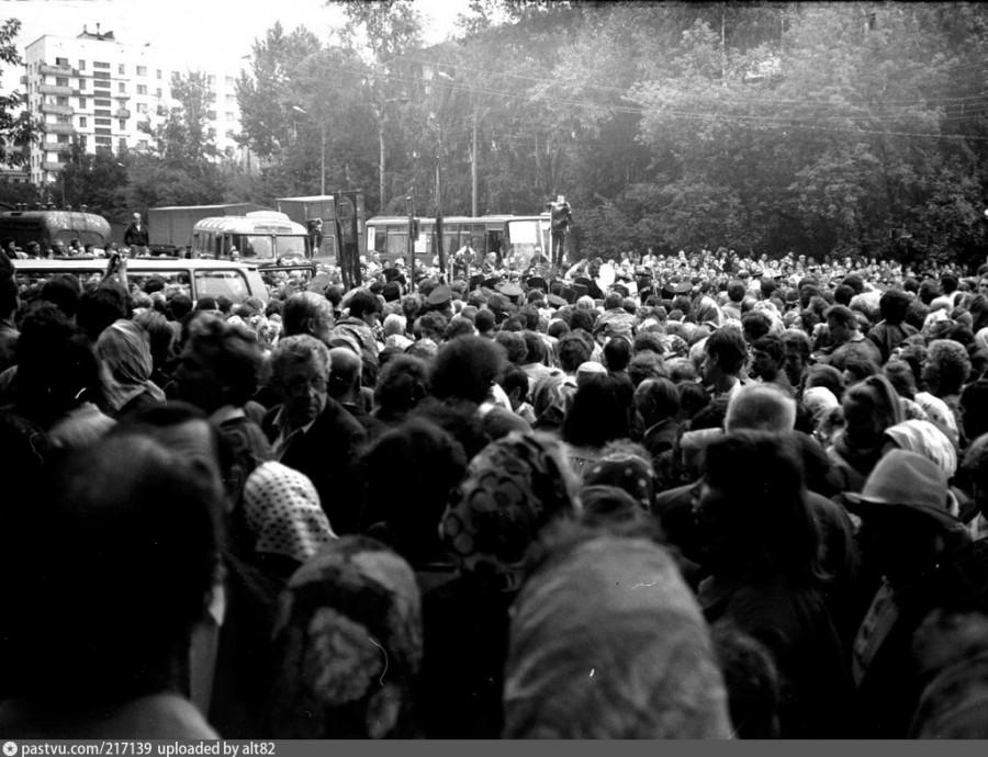 Обретение мощей преподобного Серафима Саровского. Нижний Новгород, 1 августа 1991 года-2